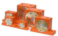 Roller pneumatic vibrator DAR
