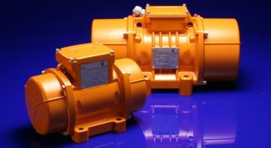 Electric vibrators vibrators for industrial applications for Small electric vibrating motors