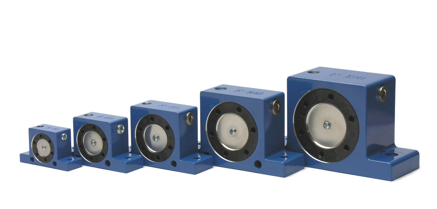 Roller pneumatic vibrator R